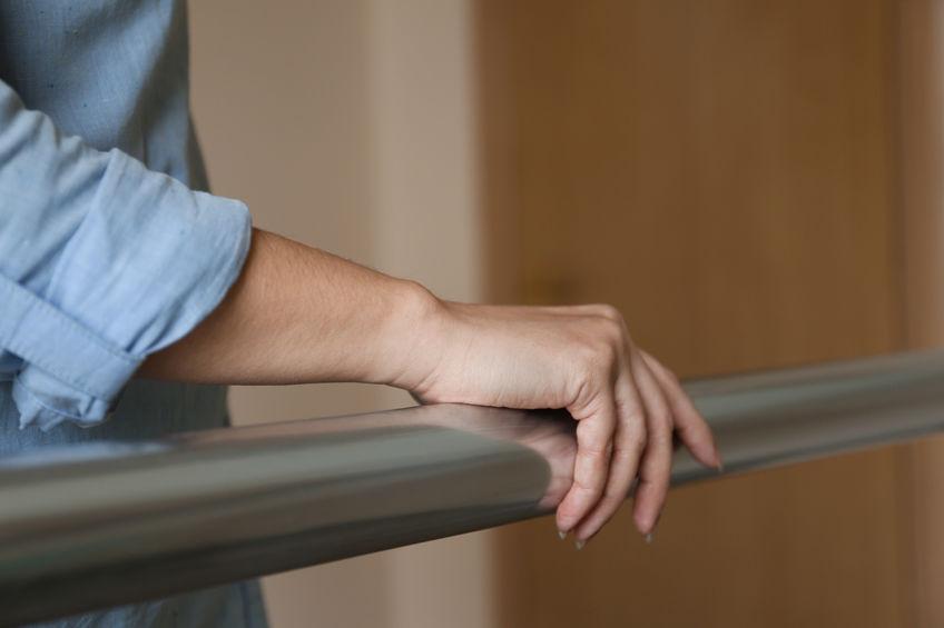falls prevention awareness, handrail